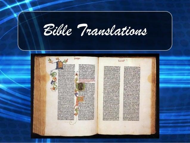Bible Manuscripts & Translations