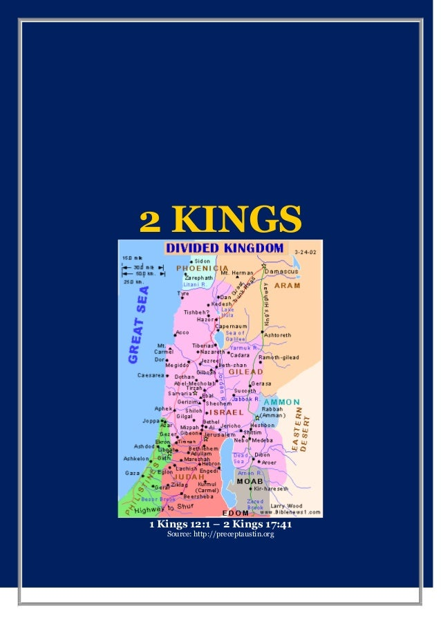 THE SECOND BOOK OF THE KINGS