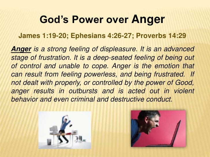 Lesson 8:The Truth about Anger | Bible.org
