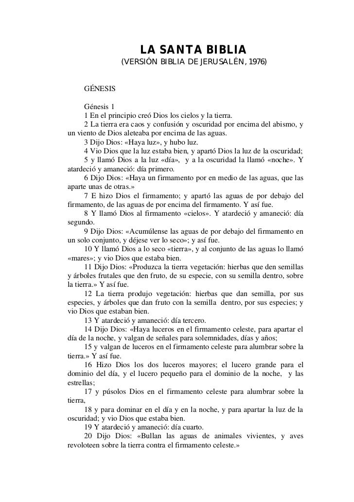 biblia de jerusalen completa