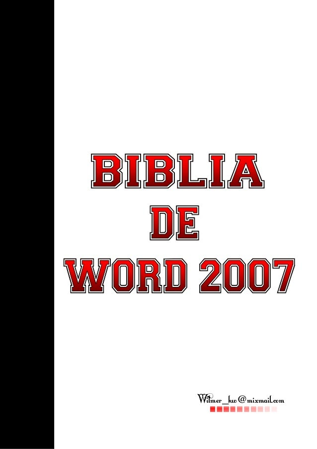 Bibliaofword2007 111028181901-phpapp01