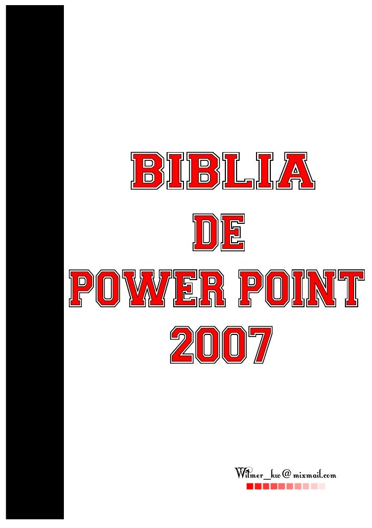Biblia power point_2007