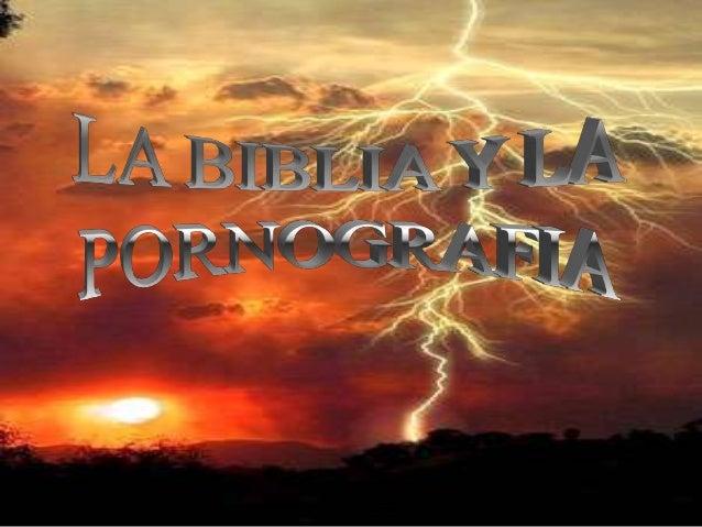 Biblia Y Pornografia