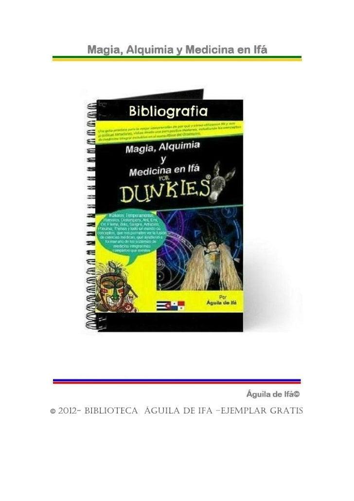 ©   2012- biblioteca águila de ifa –ejemplar gratis