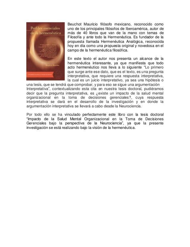 Beuchot Mauricio filósofo mexicano, reconocido como uno de los principales filósofos de Iberoamérica, autor de más de 40 l...