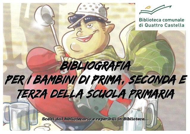 Bibliografia Primaria 2013 - Primo ciclo (i, ii e iii)