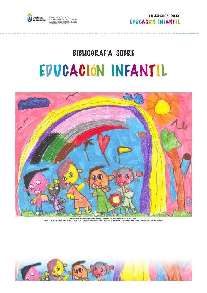 Bibliografia sobre educacion_infantil