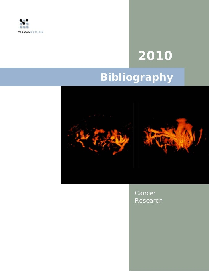 2010Bibliography     Cancer     Research