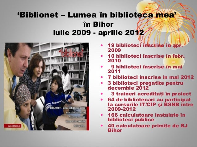 Biblionet  Bihor 2009-2012