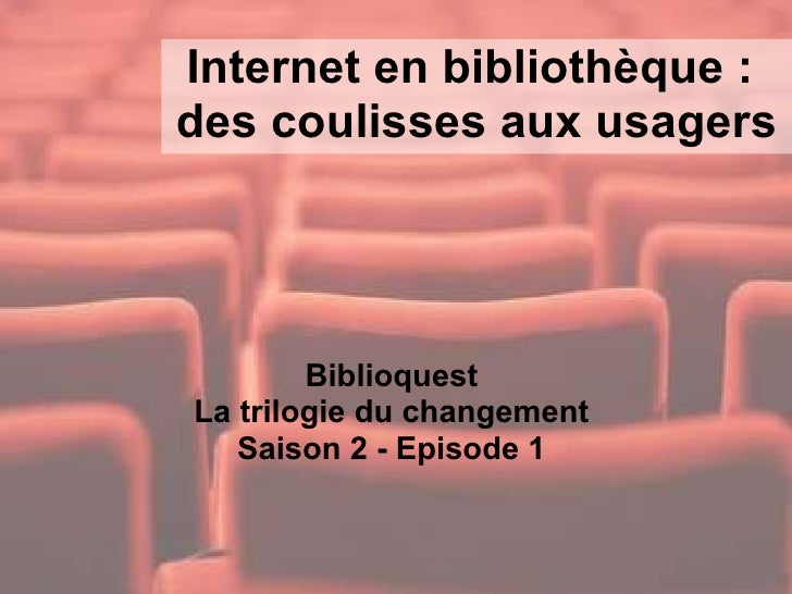 Internet  en bibliotheque (Biblioquest Saison 2 - Episode 2)