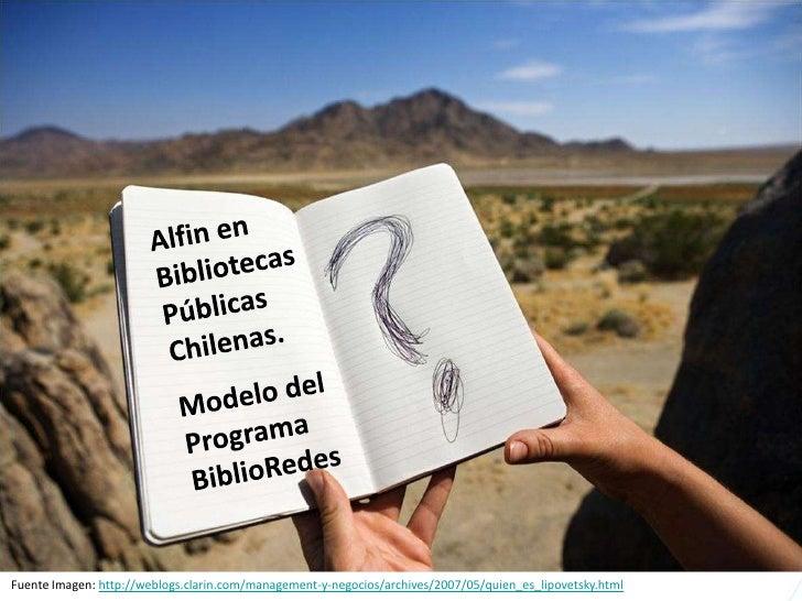 ALFIN en Bibliotecas Públicas Chilenas: Modelo