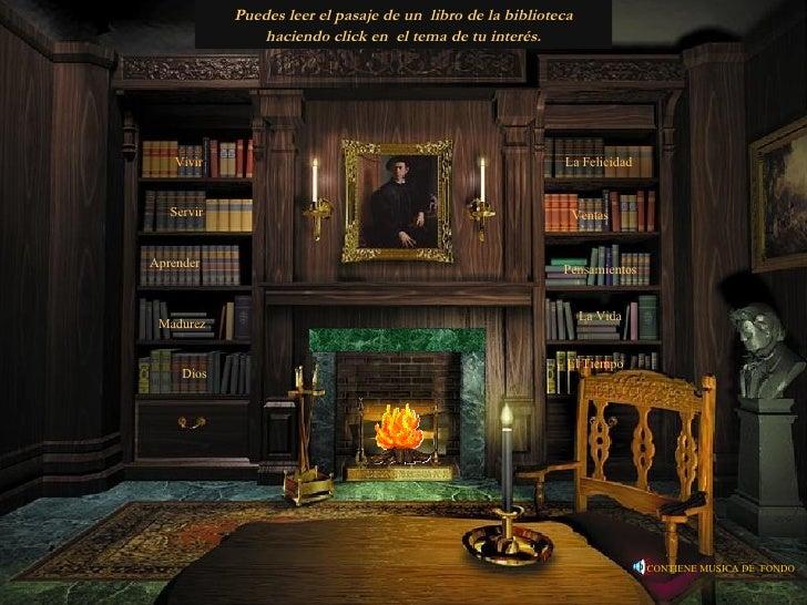 Vivir Servir Aprender Madurez Dios La Felicidad Ventas   Puedes leer el pasaje de un  libro de la biblioteca haciendo clic...