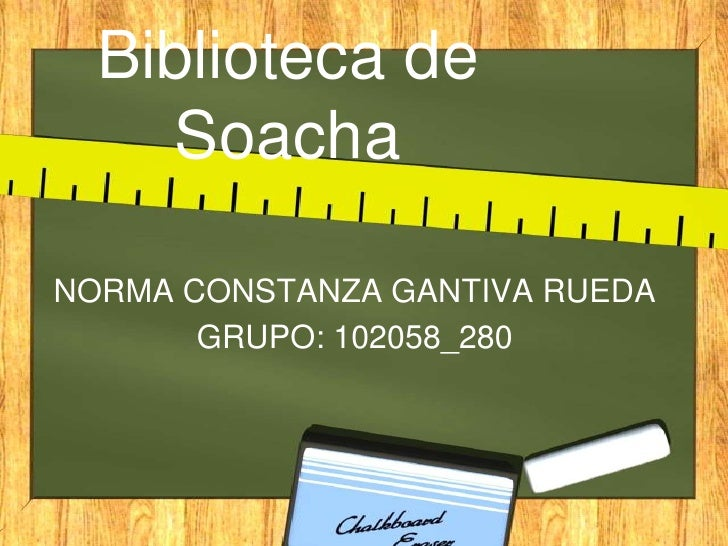 Proyecto Biblioteca de Soacha