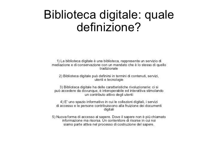 Biblioteca digitale