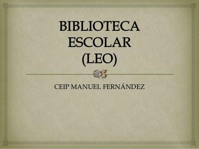 CEIP MANUEL FERNÁNDEZ