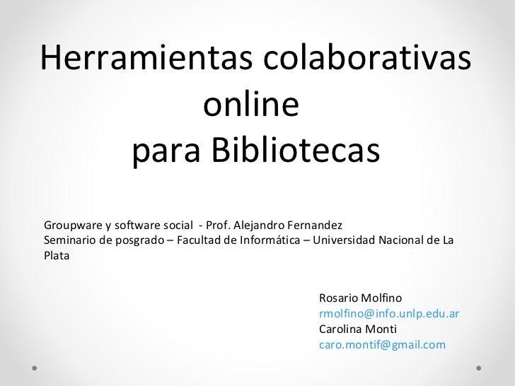 Guía para usuariosCatálogo online de laBiblioteca de la Facultad deInformática de la UNLP