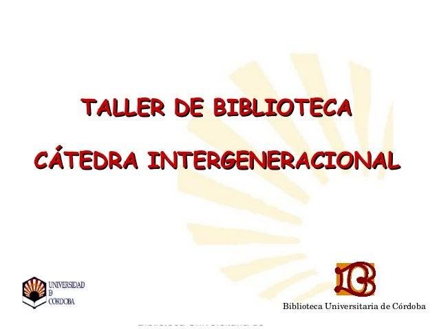Bibliotecasdecordoba