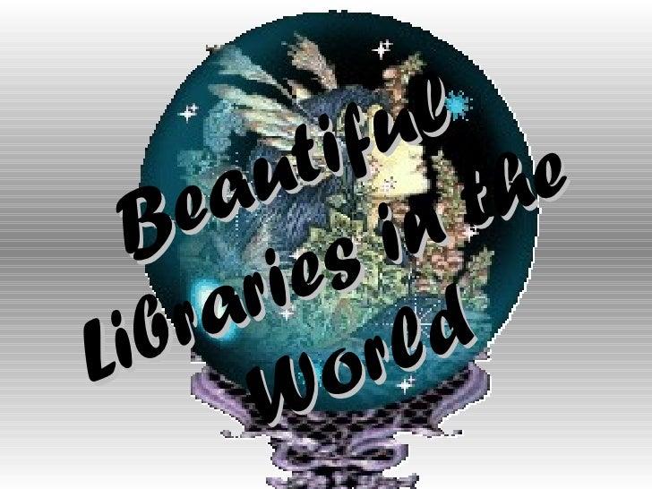 Bibliotecas no mundo