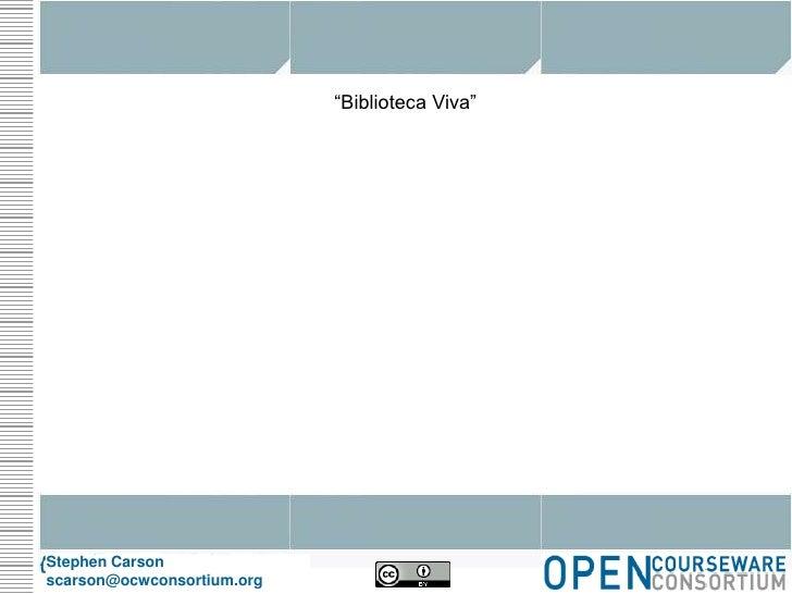 Biblioteca viva slide share