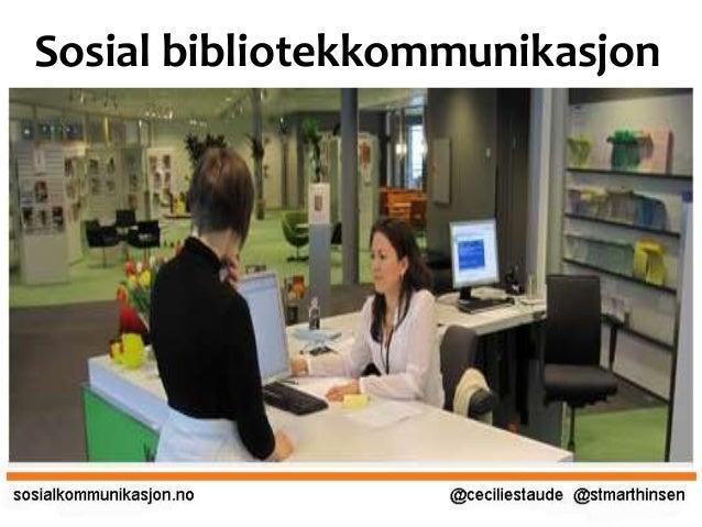 Sosial bibliotekkommunikasjon