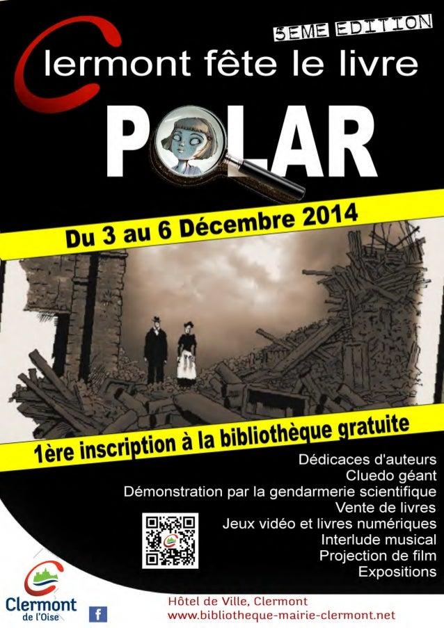 Clermont fête le livre Polar - 5ème édition