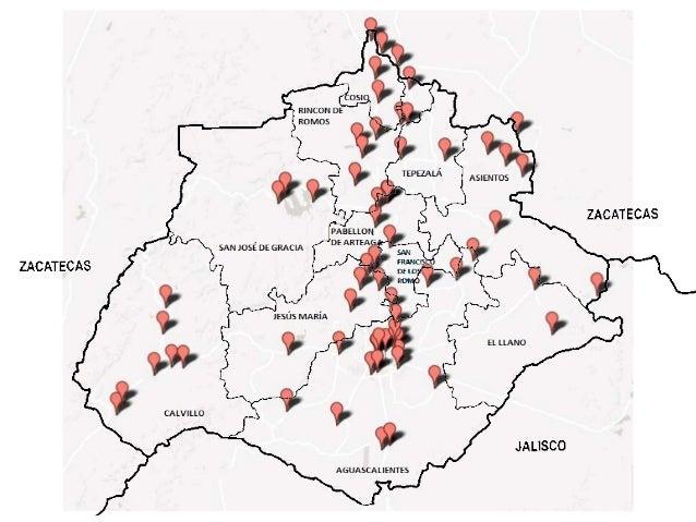 mapa de bibliotecas p u00fablicas en aguascalientes