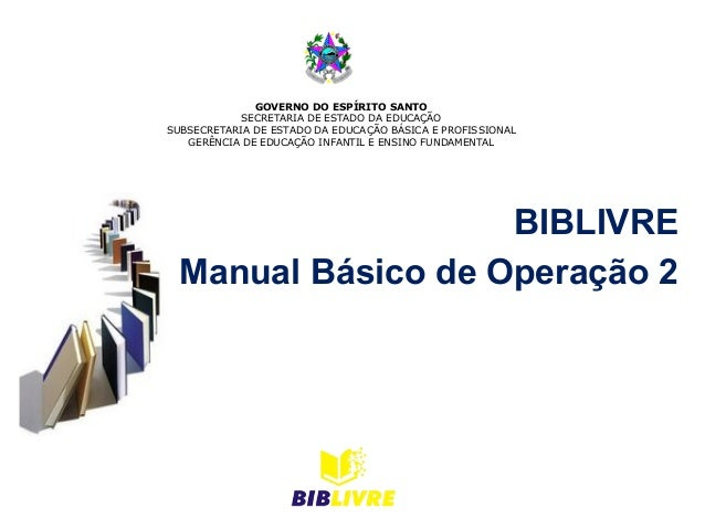 Biblivremanualdeoperao