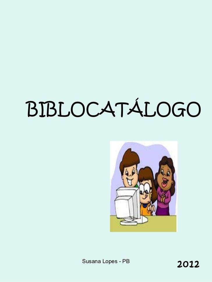 BIBLOCATÁLOGO 2012