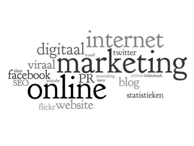 1 to 1 - mail 1 to ∞ - website Online marketing ∞ to ∞ - sociale media