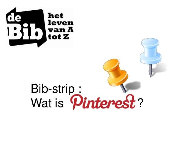 Bib-strip :Wat is ?