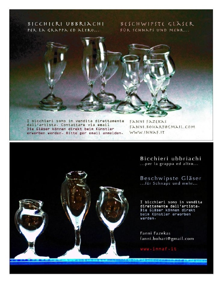 Bicchieri Ubbriachi Natale2009 In Anno Europeo
