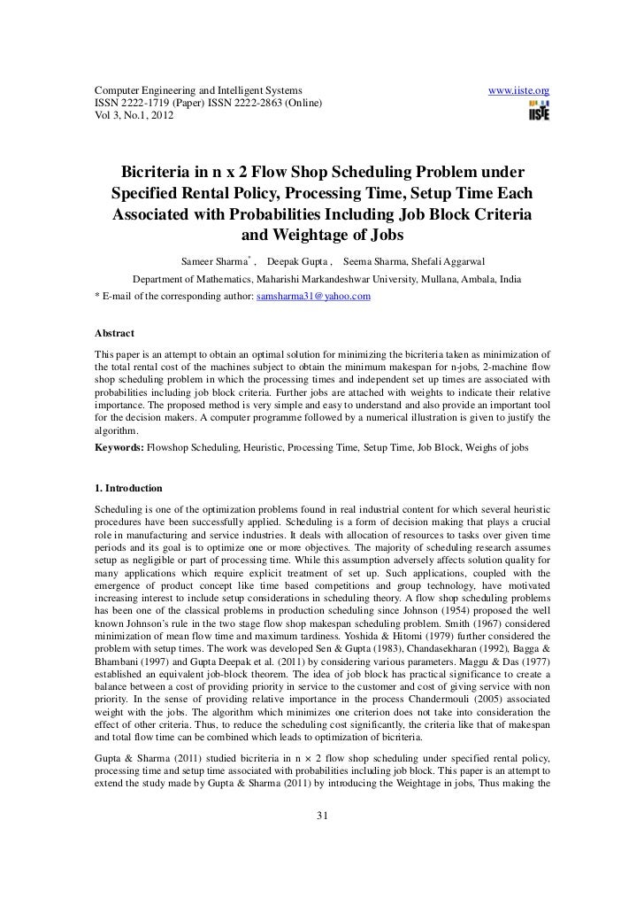 Bicriteria in n x 2 flow shop scheduling problem under specified rental policy, processing time, setup time each associated with probabilities including job block criteria