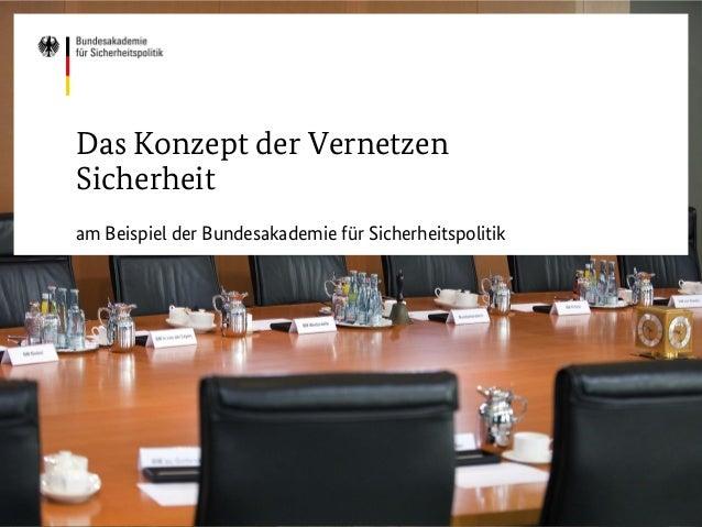 BID.workshop Sicherheitspolitik für Parlamentsmitarbeiter - Präsentation BAKS