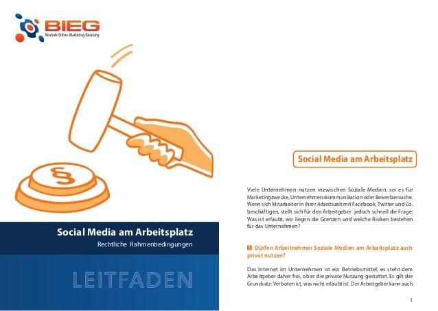Social Media am Arbeitsplatz                                           Viele Unternehmen nutzen inzwischen Soziale Medien,...