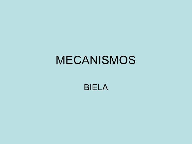 MECANISMOS BIELA