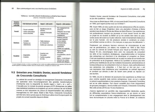 Bien communiquer avec vos interlocuteurs brésiliens   entretien avec frederic donier - chapitre9