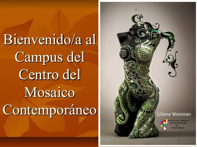 Bienvenido/a al Campus del  Centro del   MosaicoContemporáneo