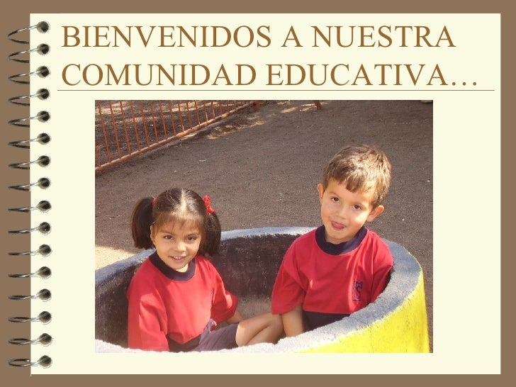 Bienvenida a Preescolar