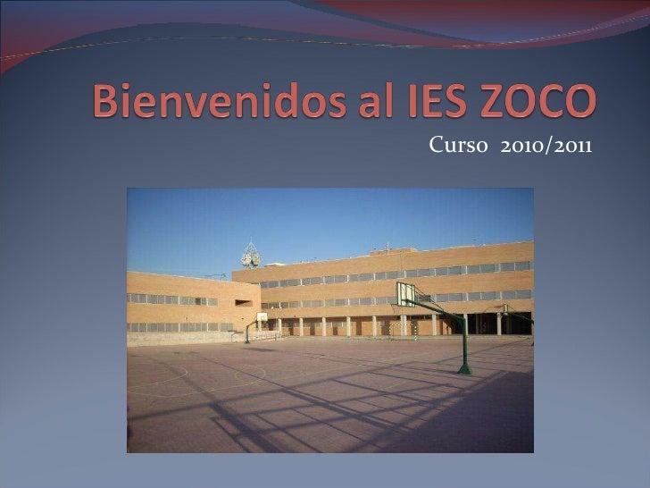 Bienvenidos al IES Zoco