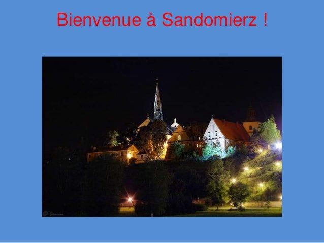 Bienvenue à Sandomierz !