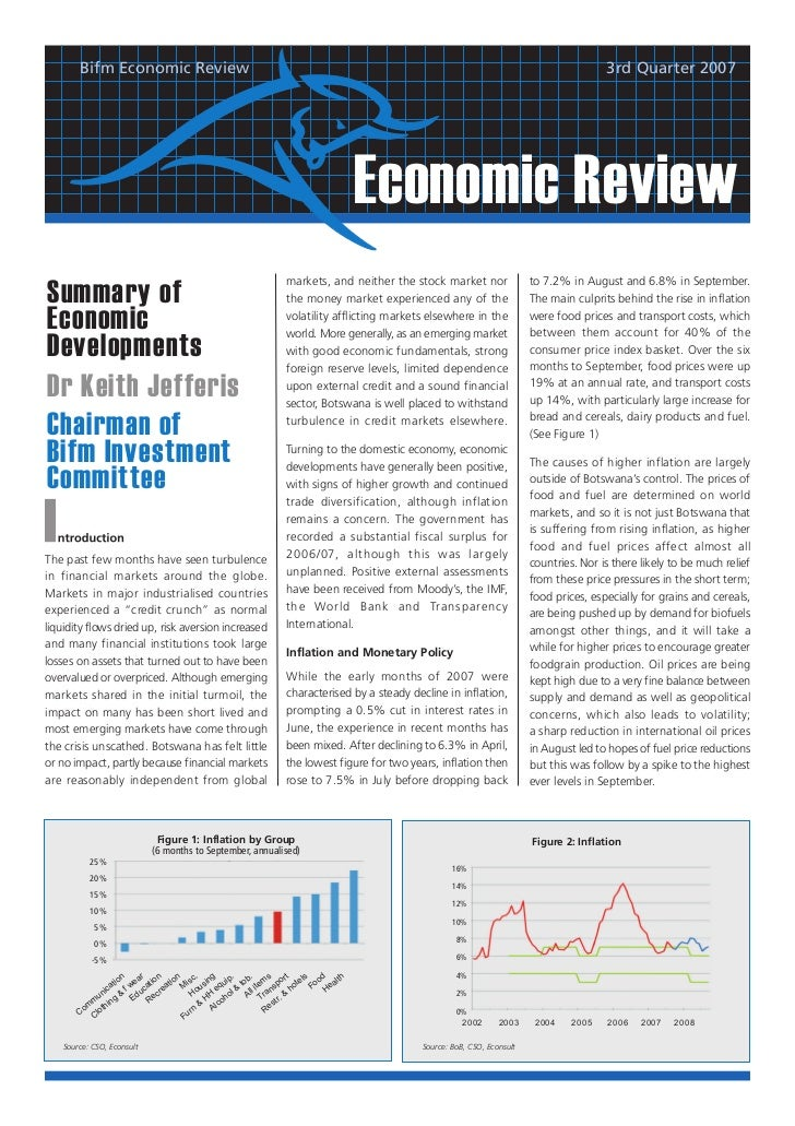 Bifm Economic Review                                                                                                      ...