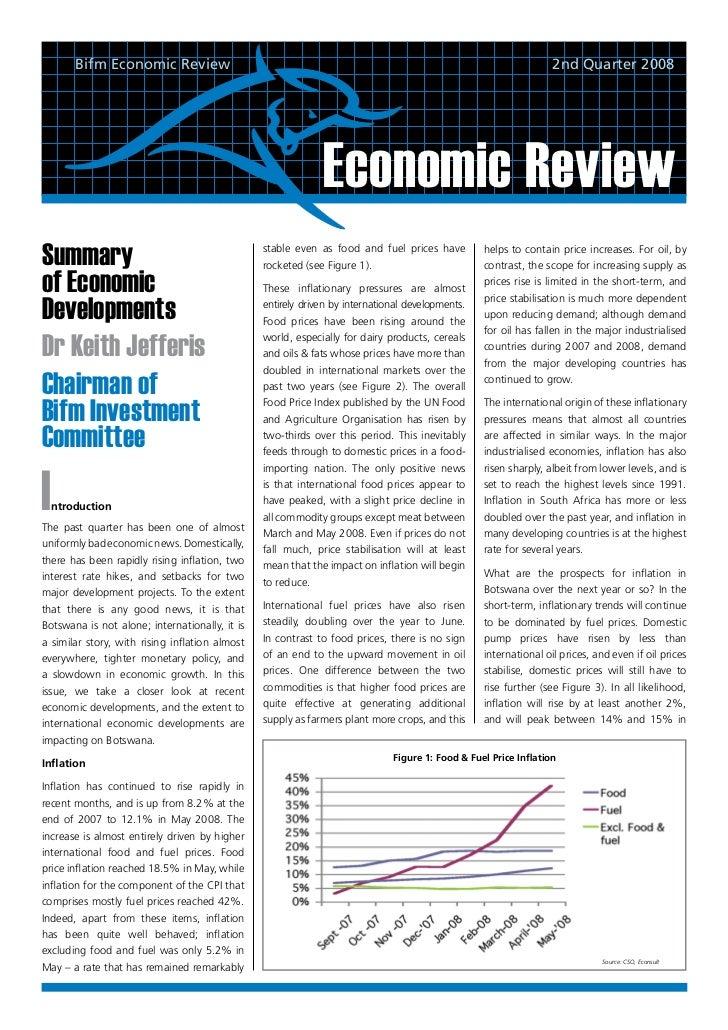 Bifm Economic Review                                                                                      2nd Quarter 2008...