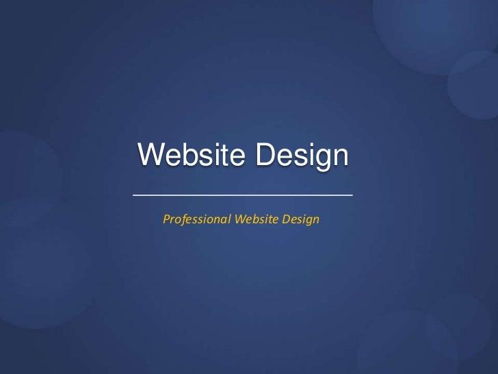 Website Design Professional Website Design