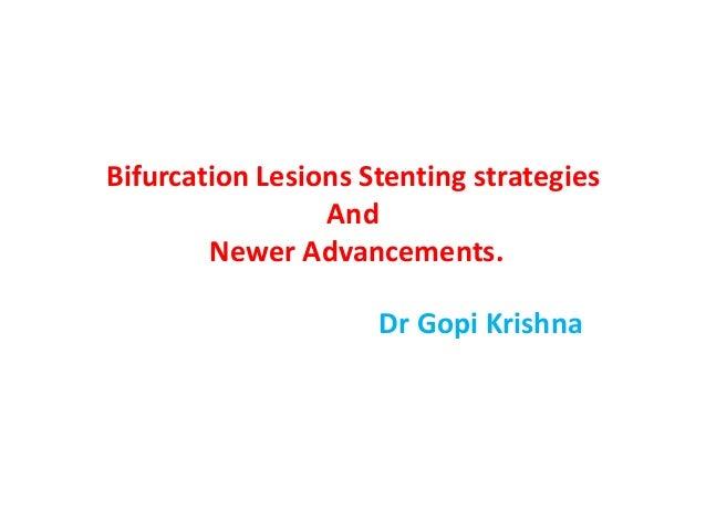 Bifurcation stenting strategies.ppt