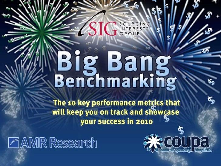 Big Bang Benchmarking - Spend Optimization