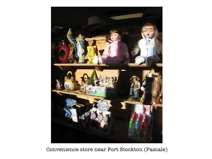 Convenience store near Fort Stockton (Pascale)