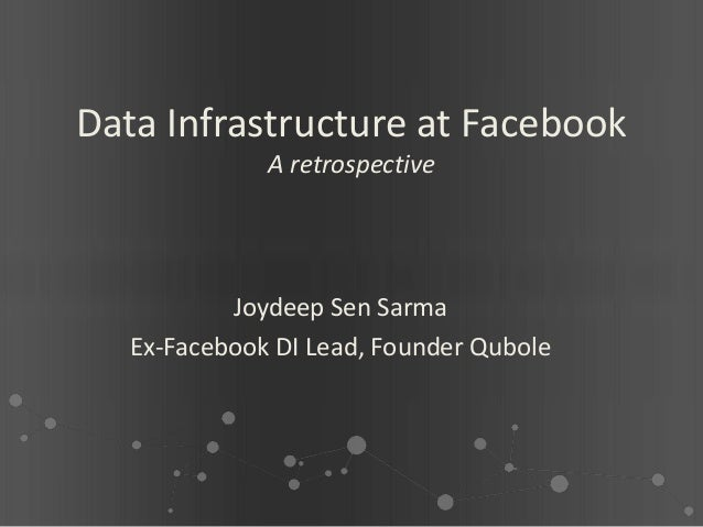 Facebook Retrospective - Big data-world-europe-2012