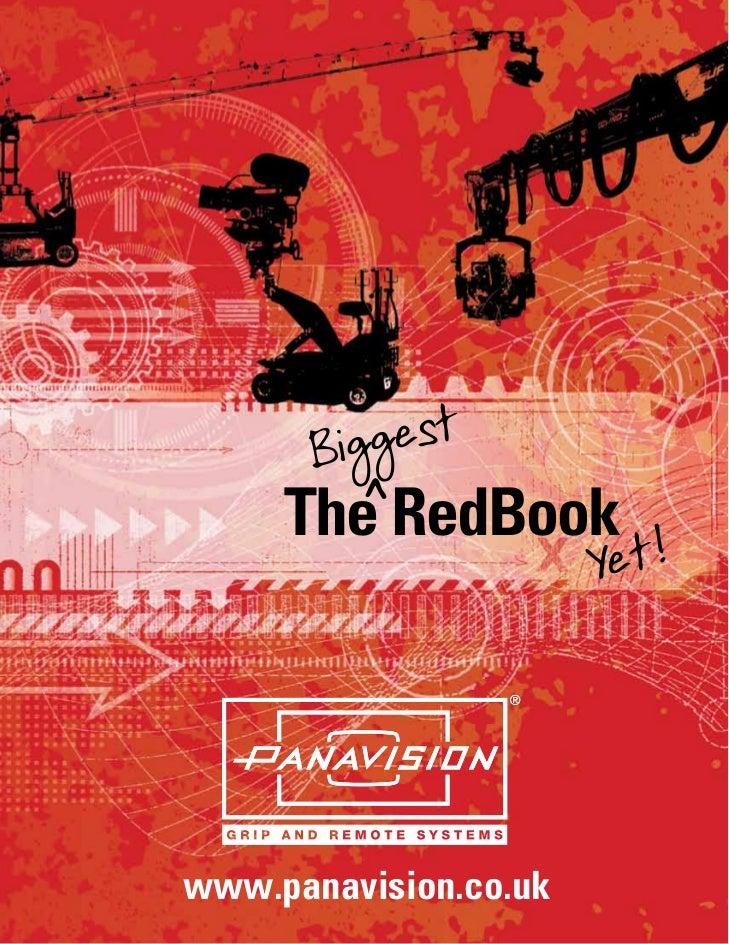 Biggest       ^     The RedBook                       Yet!www.panavision.co.uk