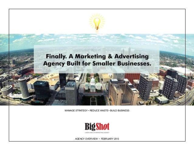 Big Shot Agency: Overview
