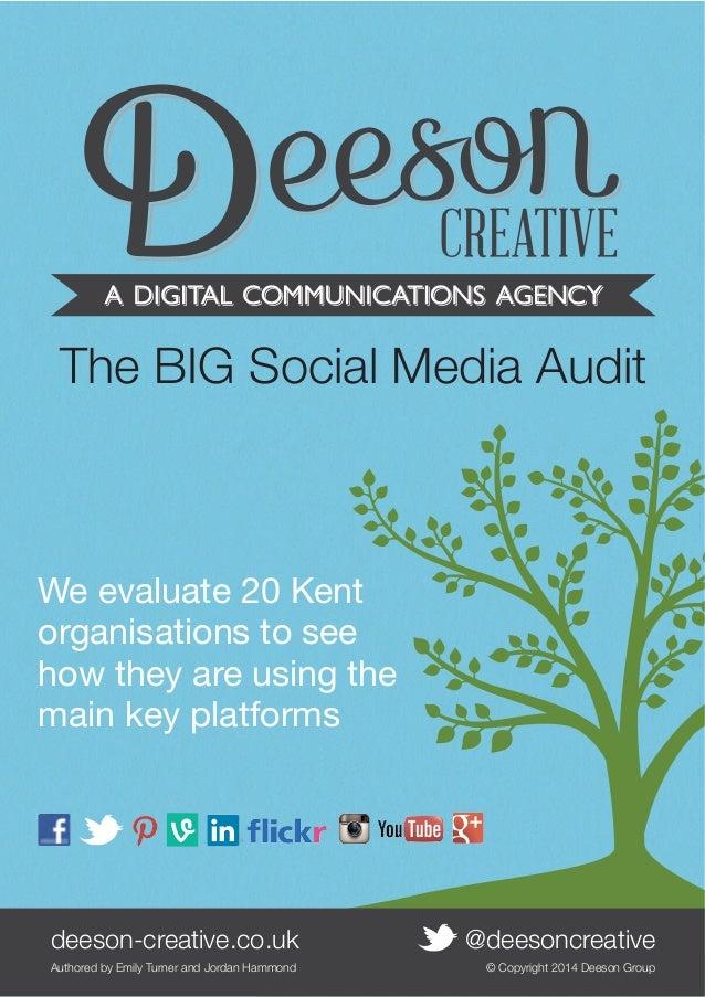 Big Deeson Kent Social Media Audit - Vine
